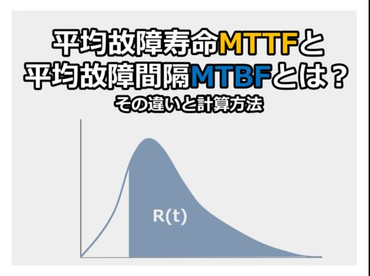 MTTFとMTBF